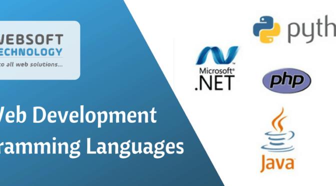 Top 4 Web Development Programming Languages