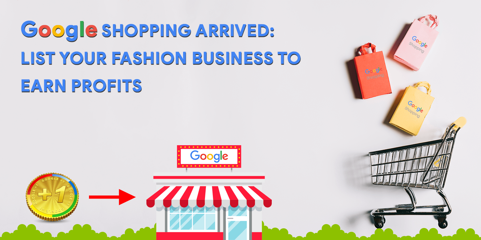 Google Shopping Arrived