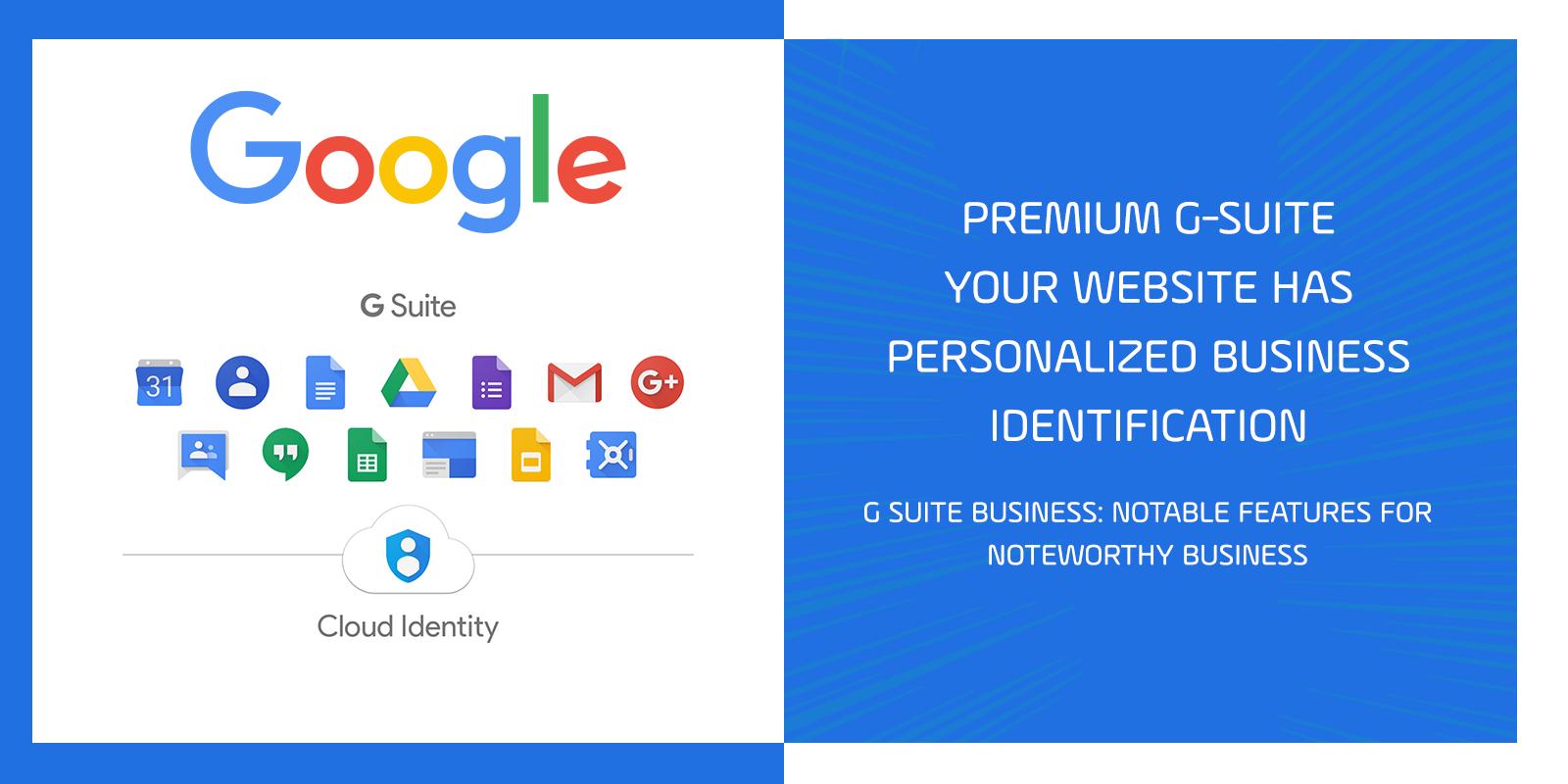 Premium G Suite